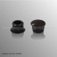 Dopuri plastic 10 mm maro