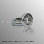 Rulmenti metalici 28 mm pentru rulouri exterioare aluminiu