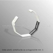 Inele plastic antiefractie pentru ax octagonal 60 mm S