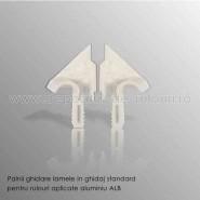 Palnii albe ghidare lamele in ghidaj standard pentru rulouri aplicate