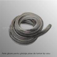 Perie glisare pentru ghidaje plase tantari tip rulou