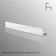 Plase tantari rulou verticale profile agatator fix alb