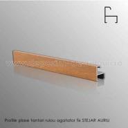 Plase tantari rulou verticale profile agatator fix stejar auriu