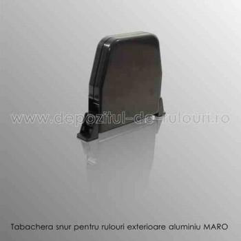 Tabachera snur pentru comanda rulouri exterioare aluminiu maro